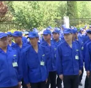 上海卒相精益指导强信机械早会PK赛